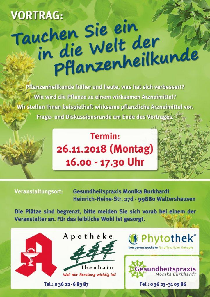 Vortrag: Tauchen Sie ein in die Welt der Pflanzenheilkunde